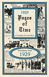 1929 Pages of Time 24 Page Greeting Card