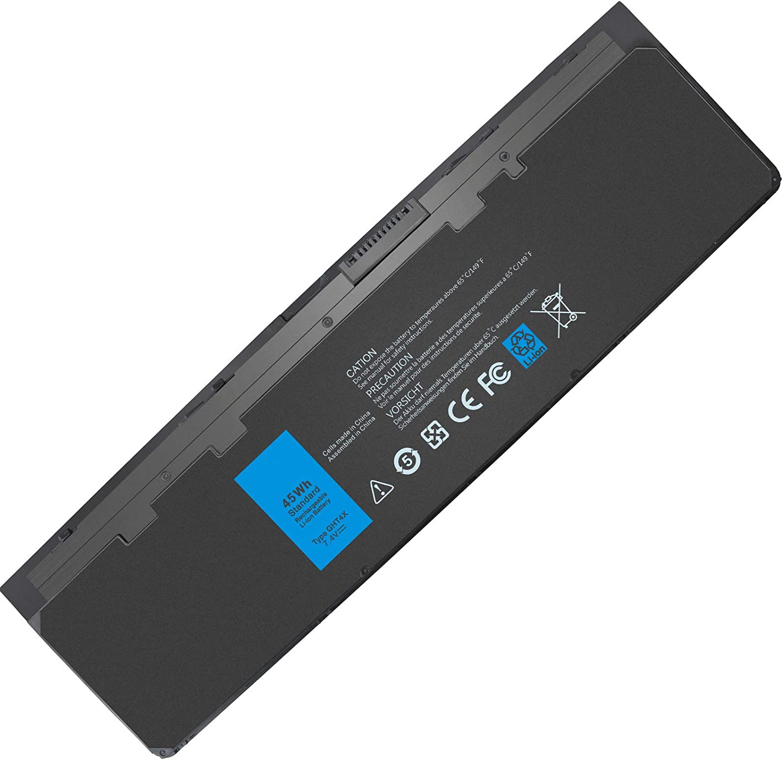 E7240 E7250 7.4V 45Wh Battery Compatible with Dell Latitude E7240 E7250 7240 7250 Ultrabook X01 PT1 WD52H VFV59 KWFFN GVD76 GHT4X JN0J1 HJ8KP 451-BBFX J31N7 NCVF0 W57CV 451-BBFS 451-BBFW 451-BBQD