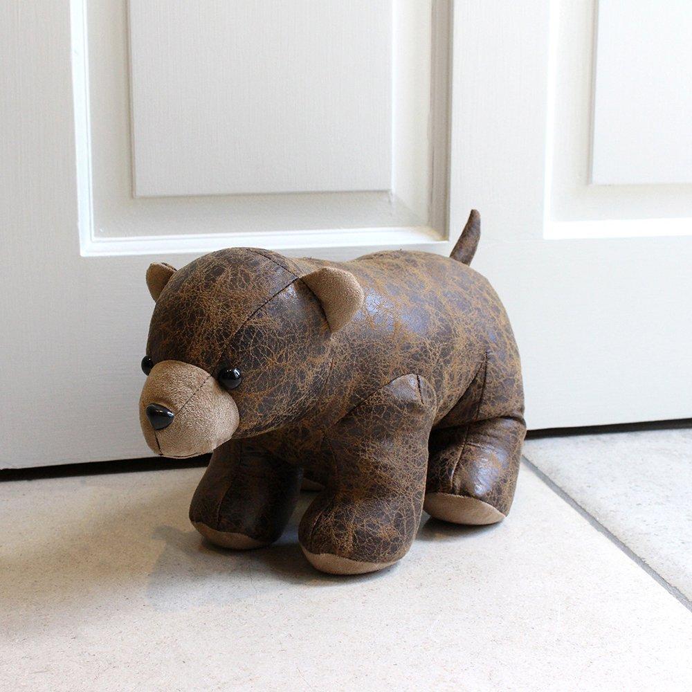 Brown Paoletti Squirrel Herringbone Heavy Weight Door Stop