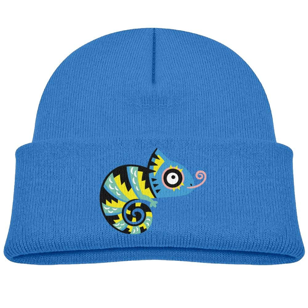 4d627271a Amazon.com: rhfjgk ldjg Colored Lizard Winter Knit Hat Baby Fleece ...