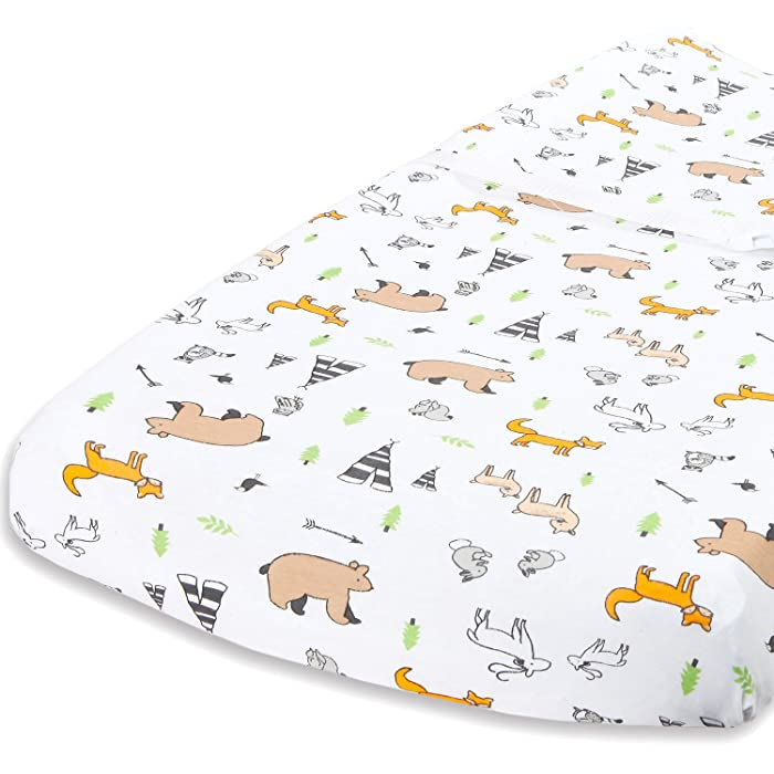 The Best Nature Print Changing Pad Cover