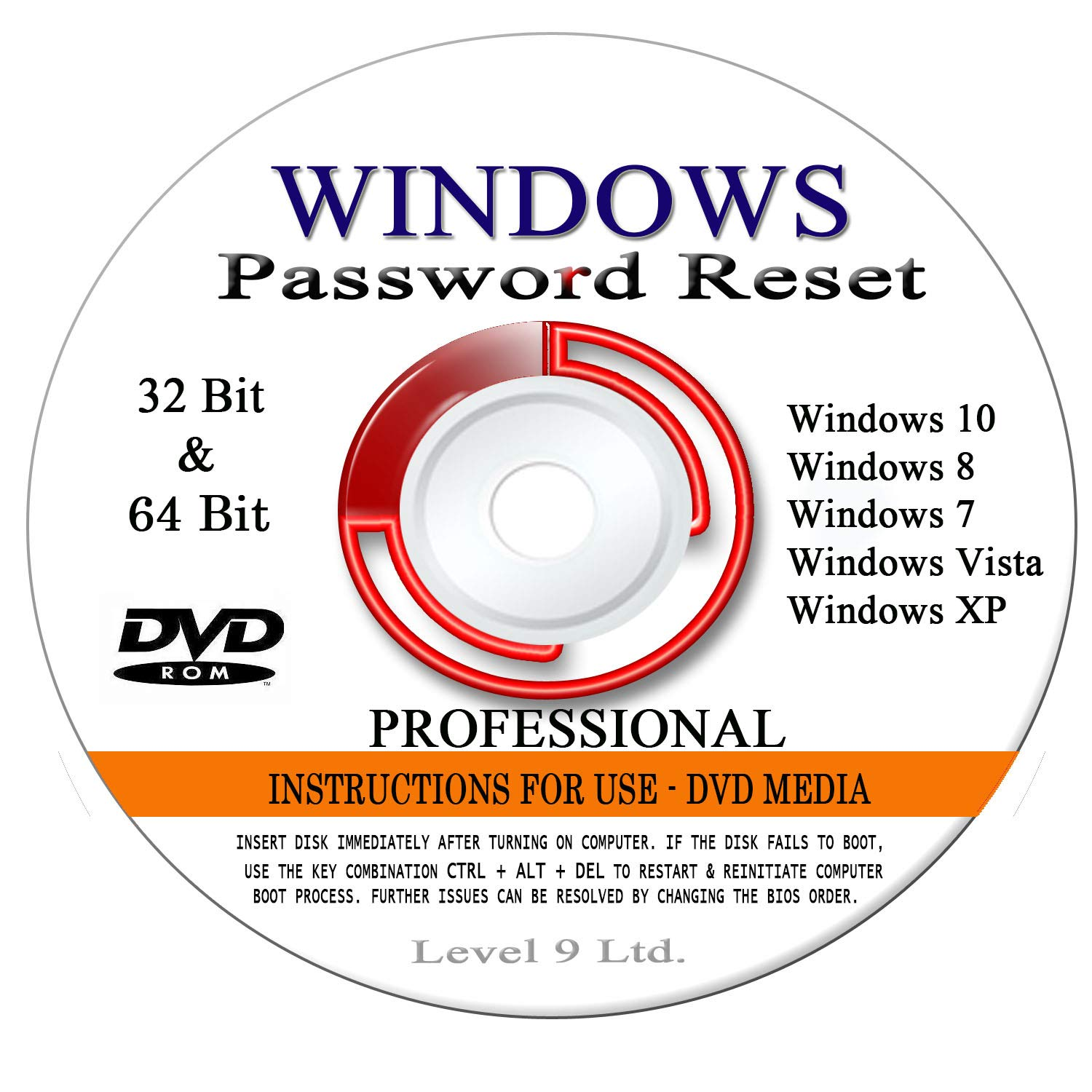 how to reset windows 7 professional password without disk