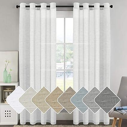 window treatment panels triple sliding glass door hversailtex window treatments linen curtain panels open weave white natural blended sheer amazoncom