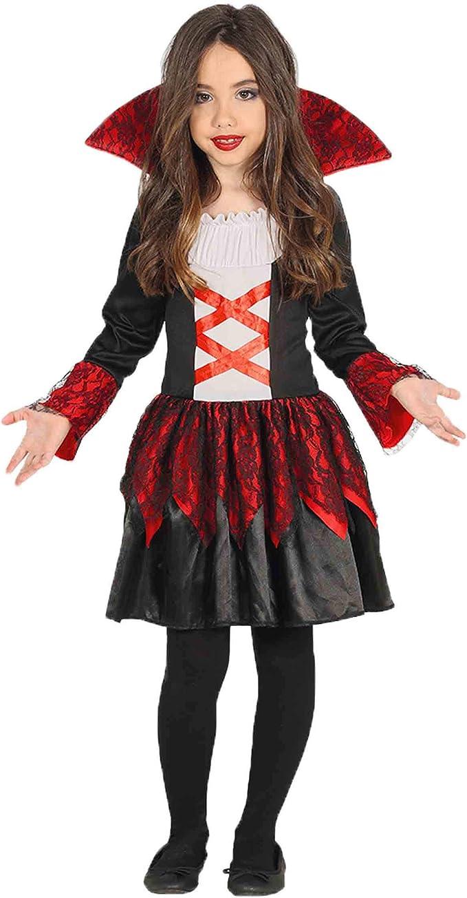 Disfraz de Baronesa Vampiresa para niña: Guirca: Amazon.es ...