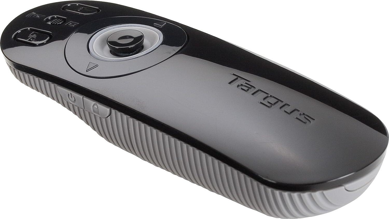 AMP09US Black with Grey Targus Wireless USB Multimedia Presentation Remote
