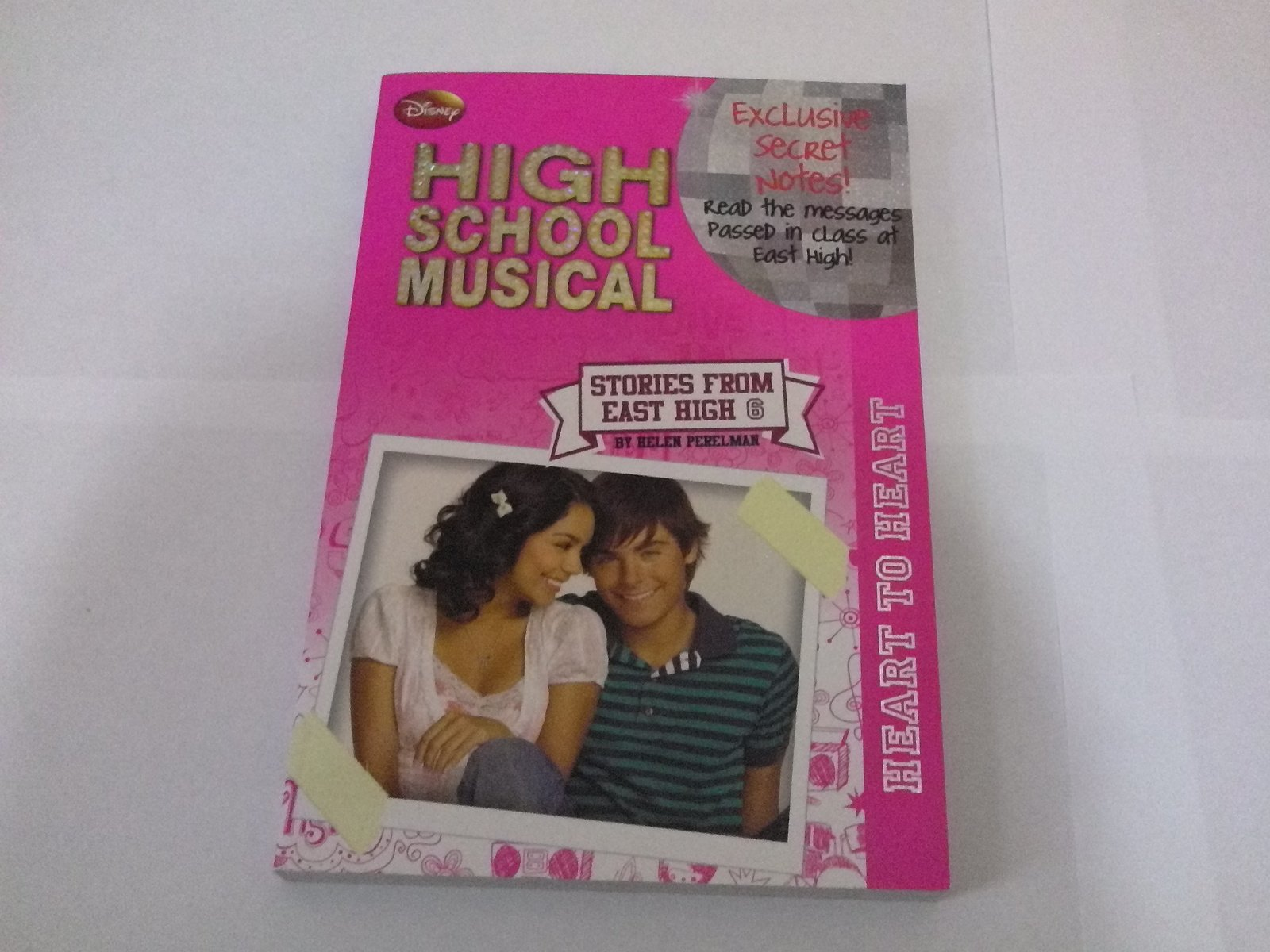 Heart to Heart, Vol. 6 (High School Musical, Stories from East High): Heart to Heart Bk. 6 PDF