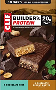 Clif Builder's Protein Bar Variety Pack, 18 pk./2.4 oz.ES