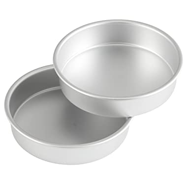 Wilton Aluminum 8-Inch Round Cake Pan Set, Multipack of 2