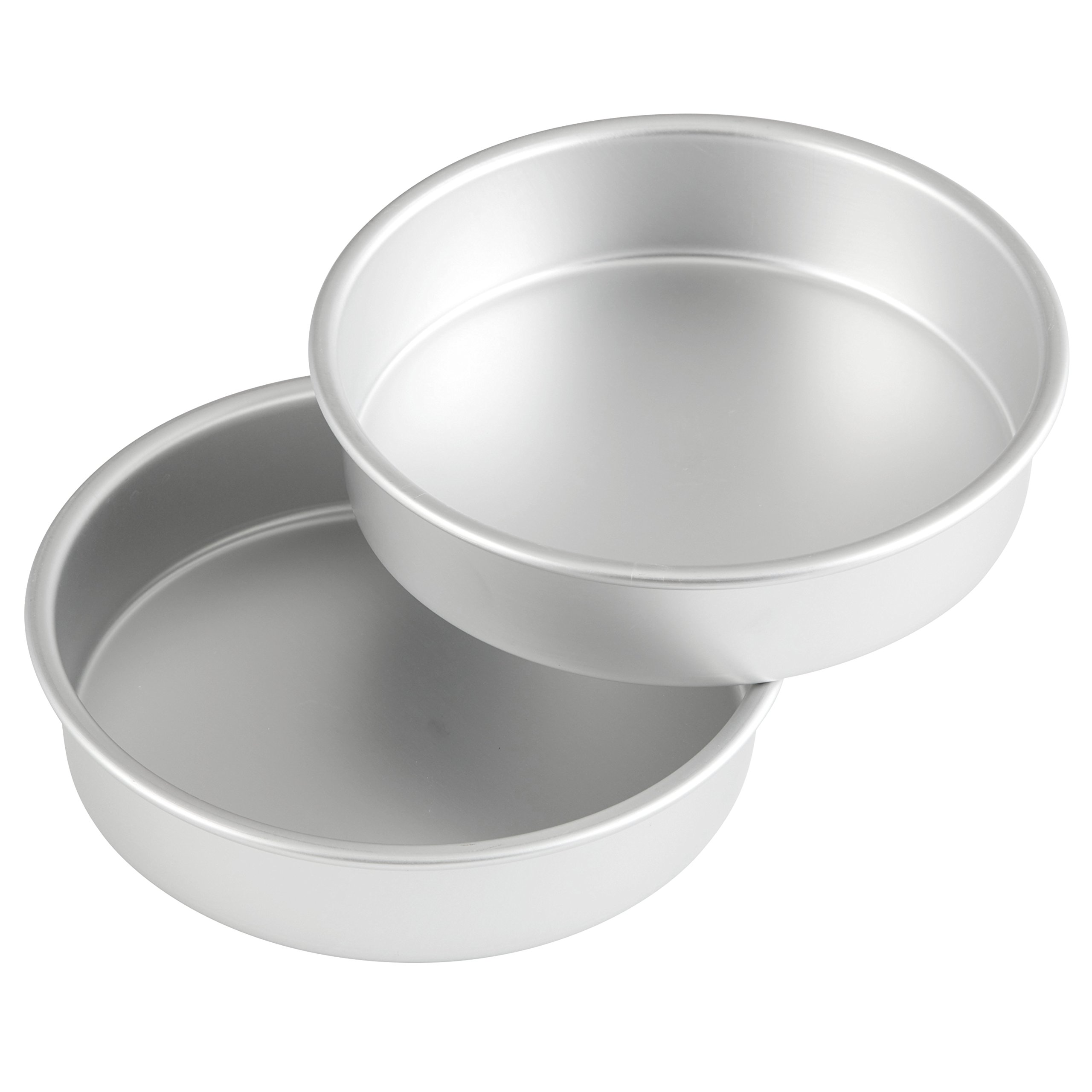 Wilton Aluminum Round Performance Pan Multipack, 8 in. x 2 in. (2-Pack)