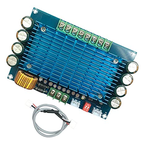 TDA8954 210Wx2 Ultra High Power Digital Endstufe Platine Audio Verst/ärker HiFi Amplifier Board Blau ASHATA Dual-Channel Digital Audio Stereo-Power Verst/ärker Board