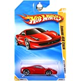 Hot Wheels 2010 Ferrari 458 Italia 034/240, '10 New Models 1:64 Scale Collectible Die Cast Car