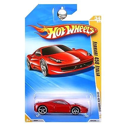 Buy Hot Wheels 2010 Ferrari 458 Italia 034/240, '10 New