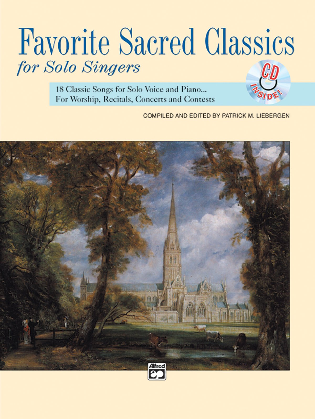 Favorite Sacred Classics for Solo Singers (Favorite Classics for Solo Singers) with CD med/high voice