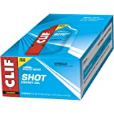 CLIF SHOT - Energy Gel - Vanilla - (1.2 Ounce Packet, 24 Count)