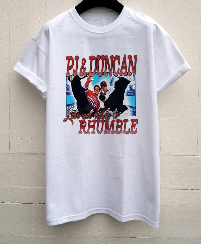 Pj & Duncan Shirt, 90s. T Shirt, Pj And Duncan Vintage Style Vintage Style Unisex Tv Presenting Casual Tee Street Wear