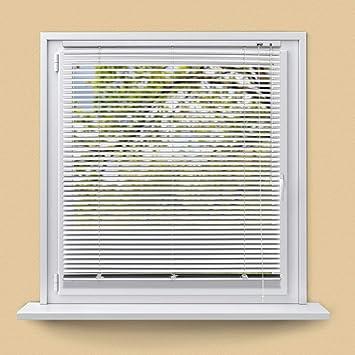 Alu Jalousie Jalousette Fenster Schalusie Jalusie Höhe 50 cm weiß