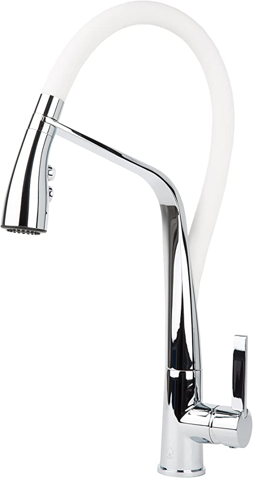 Chrome Finish Pfister F5347CMS Clairmont 1-Handle Pull-Out Faucet 2.2 GPM NEW!