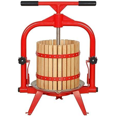 MacIntosh - Prensador de frutas de 4 galones + cesta de madera ...