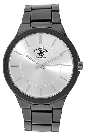 Beverly Hills Polo Club Gunmetal Metal link watch (Model: 53306)