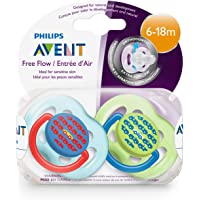 Philips AVENT BPA Free Fashion Pacifier 6-18 Months 2-Pack