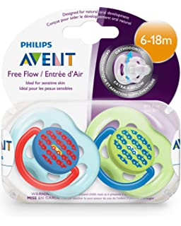 Amazon.com : Philips Avent BPA Free Contemporary Freeflow ...