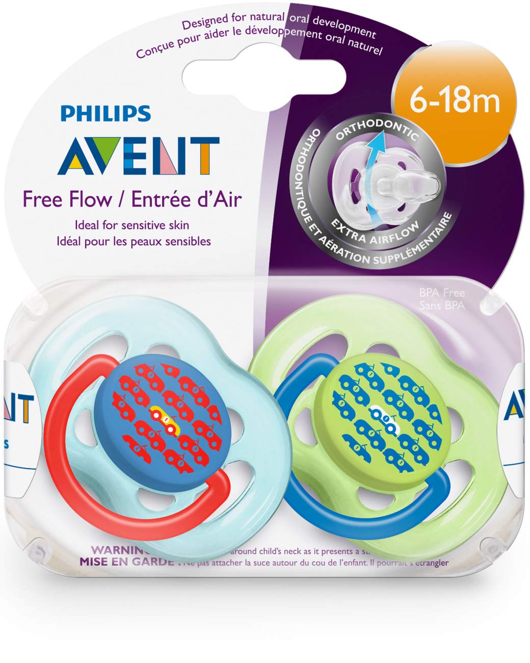 Amazon.com: Philips AVENT última intervensión de BPA Fashion ...
