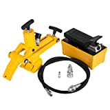 BestEquip Bead Breaker 10,000PSI Air Hydraulic Foot Pump Tire Bead Breaker Kit with Air Hose Included for Car Truck Trailer