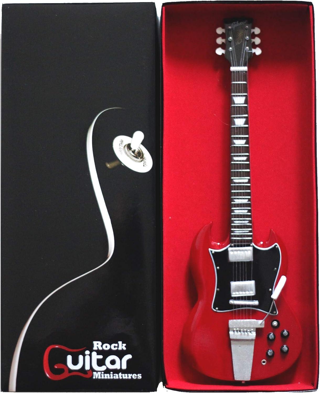 RGM001 Angus Young ACDC Guitarra en miñatura: Amazon.es: Electrónica
