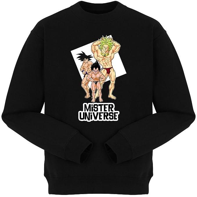eafc78f5 Okiwoki Funny Dragon Ball Z -DBZ Sweatshirts - Son Goku, Vegeta and ...