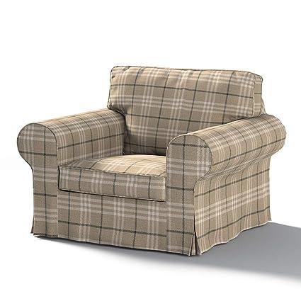 dekoria ektorp Sillón funda - Funda apta para sofá para Ikea ...