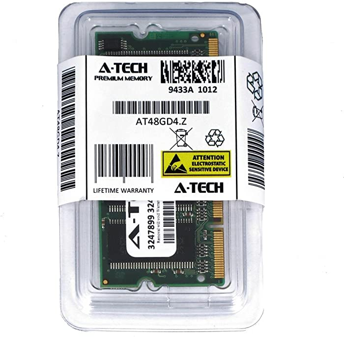 A-Tech 1GB DDR 266MHz PC2100 200-pin SODIMM Laptop Notebook Computer Memory RAM Module