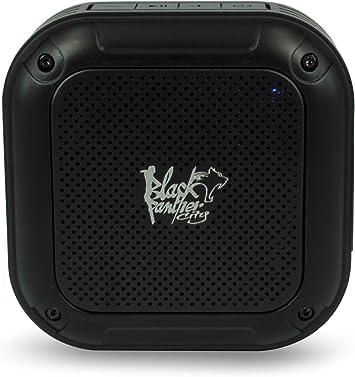 blackpanthercity b-Splash Altavoz Bluetooth Waterproof 3 W para ...