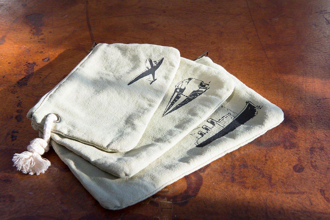 Henley Linen Gear Bags (set-of-3)