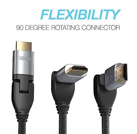 Pwr 3.6 Metros 4K HDMI 2.0 Cable Trenzado Alta Velocidad Ultra Full HD 2160p 1080P Ethernet 3D de Retorno de Audio HDMI-Cable - para Samsung Sony RCA ...