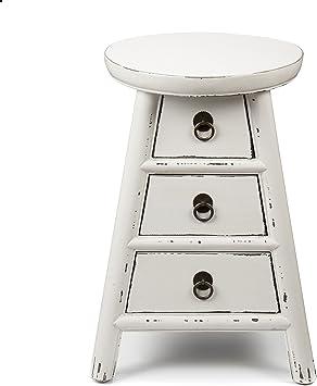 Alinea Cosmo Table De Chevet 3 Tiroirs Blanc 35 0x49 0x35 0