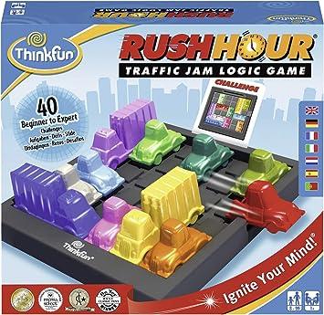 Think Fun- Rush Hour Juego de Habilidad, Multicolor, única (Ravensburger 76336) , color/modelo surtido: Amazon.es: Juguetes y juegos