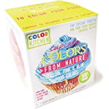 ColorKitchen Cupcake Coloring Set (PINK, YELLOW, and BLUE) - Non-GMO, Plant Based, Gluten-Free