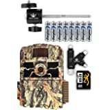 Browning Dark Ops HD Max Trail Camera with Batteries, SD Card, Card Reader, and Mount