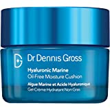 Dr. Dennis Gross Hyaluronic Marine Oil-Free Moisture Cushion: for Dull, Dehydrated or Dry Skin, 1.7 fl oz