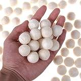 100 Pcs Wool Felt Balls Wool Beads 20 mm Felted
