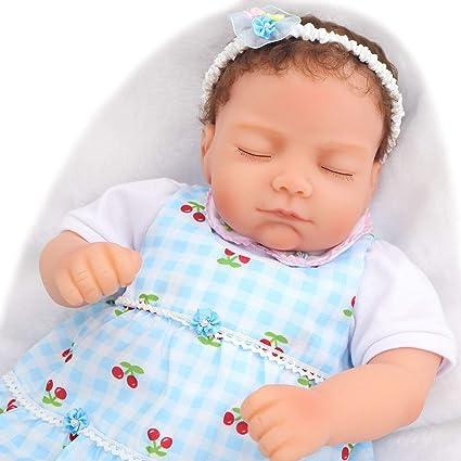 Amazon.es: Pursue Baby - Muñeca de 45 cm con chupetes ...