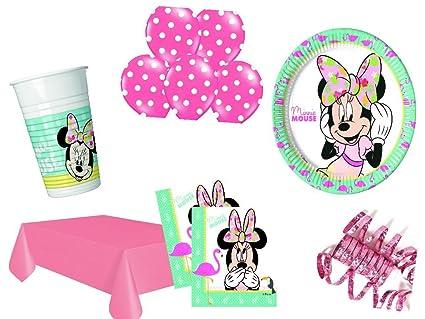 XXL para fiestas cumpleaños Minnie Mouse Flamingo Niños ...