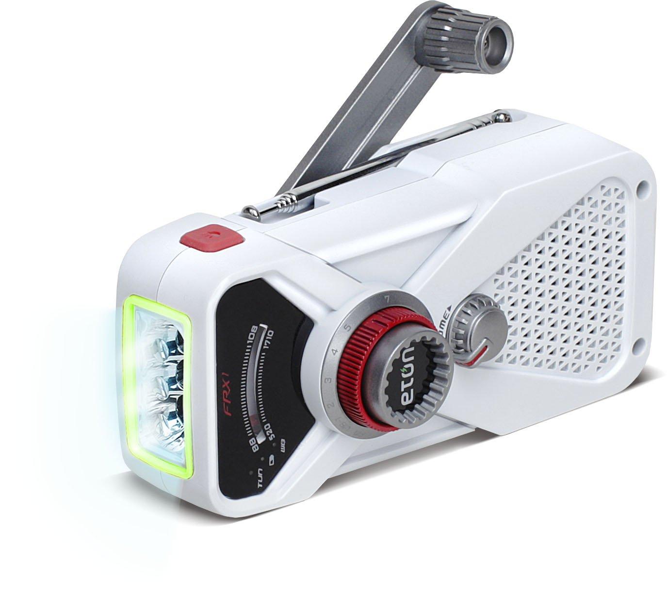 Eton FRX1 Personal Analógica Blanco - Radio (Personal, Analógica, AM,FM, USB, Blanco, De plástico): Amazon.es: Electrónica