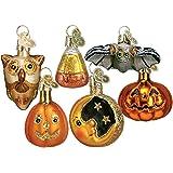 Old World Christmas Miniature Halloween Assortment Glass Blown Ornament