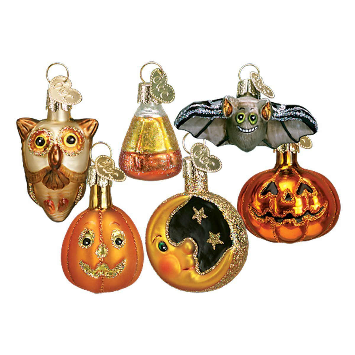Brand new Amazon.com: Old World Christmas Miniature Halloween Assortment  MS41