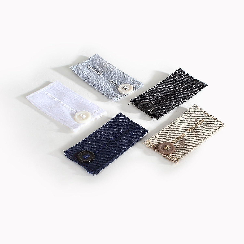 5 élargisseurs pantalons à boutons