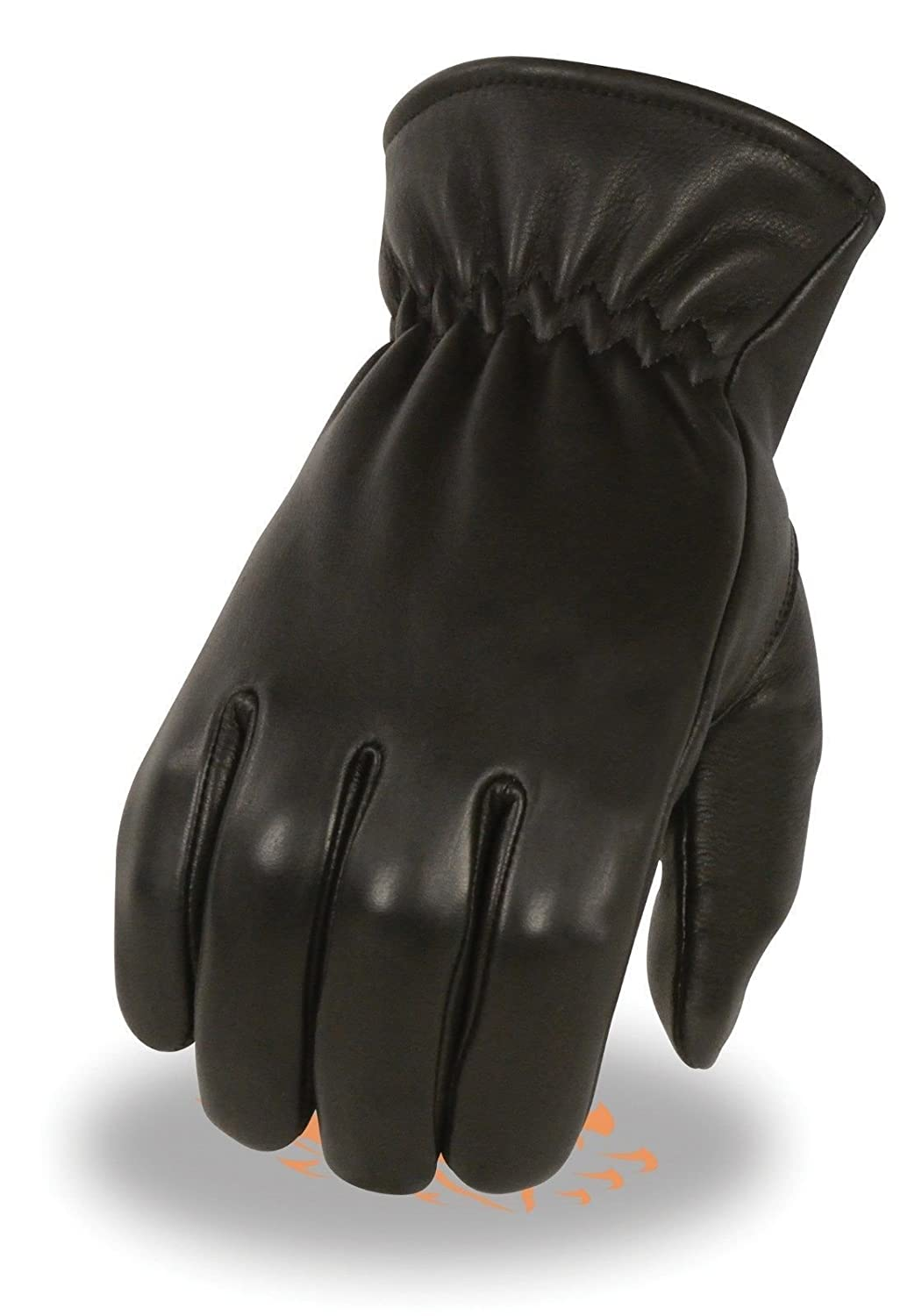 MEN'S THERMAL LINED VERY WARM & SOFT DEER SKIN LEATHER GLOVES WITH CINCH WRIST Unbranded