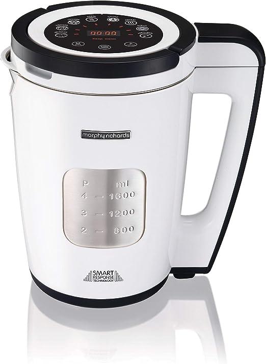 1.6 litre White 1100 W Morphy Richards 501020 Total Control Soup Maker