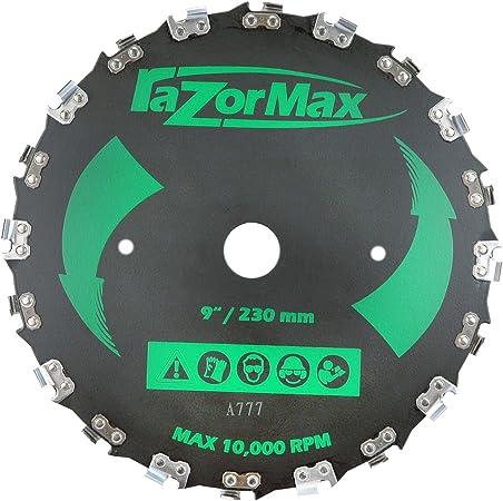 Amazon.com: Maxpower 12581 Cuchilla de Desbrozadora Max, 9 ...
