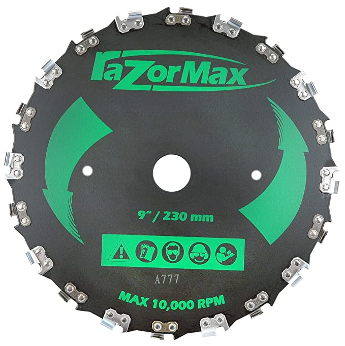 Rotary 12581 Razor Max Brushcutter Blade Replaces, Jm777